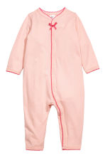 2-pack all-in-one pyjamas - Light pink -  | H&M CN 2