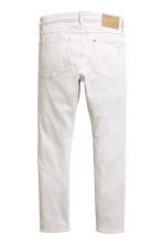Skinny Low Trashed Jeans - White denim - Men | H&M 3