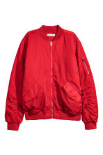 Bomber jacket - Red - Ladies | H&M CN 1