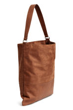 Shopper with a shoulder strap - Brown - Ladies | H&M 2