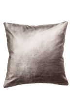 Copricuscino in velluto - Grigio - HOME | H&M IT 1