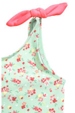 Swimsuit with bows - Mint green/Floral - Kids | H&M 2