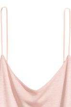 Jersey strappy top - Powder pink - Ladies | H&M CA 3
