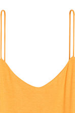 Jersey strappy top - Yellow - Ladies | H&M CN 3