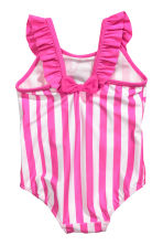 Swimsuit with a frill - Cerise/Minnie Mouse - Kids | H&M 2