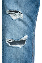 Slim Regular Trashed Jeans  - Blu denim - UOMO | H&M IT 4