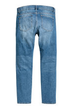 Slim Regular Trashed Jeans  - Denim blue - Men | H&M 3