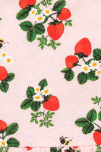Patterned jersey dress - Light pink/Strawberries - Kids | H&M 3