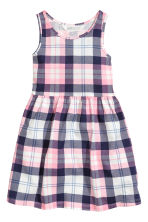 Patterned jersey dress - Pink/Checked - Kids | H&M 2