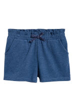 Jersey shorts - Dark blue -  | H&M CN 2