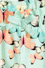 Jersey shorts - Mint green/Butterflies -  | H&M CN 3