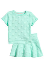 Top and skirt - Mint - Kids | H&M CN 2