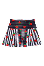 Top and skirt - White/Strawberries - Kids | H&M 3
