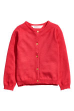 Cardigan in cotone - Lampone -  | H&M IT 2