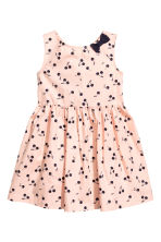Patterned cotton dress - Pink - Kids | H&M 2