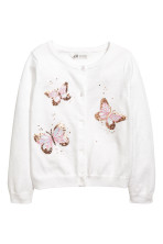 White/Butterflies