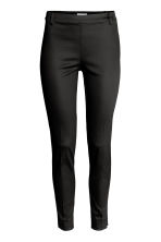 Cigarette trousers - Black -  | H&M 2