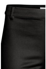 Cigarette trousers - Black -  | H&M 3