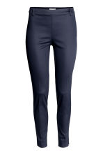 Cigarette trousers - Dark blue - Ladies | H&M CN 3