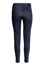 Cigarette trousers - Dark blue - Ladies | H&M CN 4