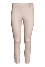 Cigarette trousers - Light beige - Ladies | H&M 2