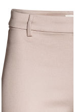 Cigarette trousers - Light beige - Ladies | H&M 3