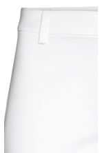 Cigarette trousers - White - Ladies | H&M CN 3