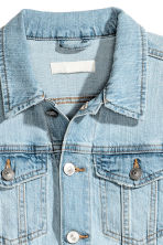 Denim jacket - Light denim blue - Ladies | H&M CN 3