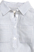 Shirt dress - Blue/White/Striped - Kids | H&M CN 3