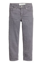 Twill trousers - Dark grey - Kids | H&M 2