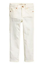 Twill trousers - Natural white - Kids | H&M CN 2
