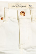Twill trousers - Natural white - Kids | H&M CN 3