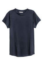 Jersey top - Dark blue -  | H&M 2