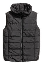 Padded gilet - Black - Kids | H&M 2