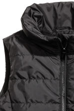 Padded gilet - Black - Kids | H&M 3