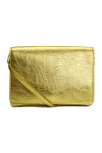 Shoulder bag - Yellow/Metallic - Ladies | H&M CN 1