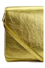Shoulder bag - Yellow/Metallic - Ladies | H&M CN 3