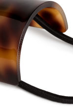 Ponytail cuff - Tortoise shell - Ladies | H&M CN 2