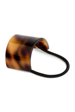 Ponytail cuff - Tortoise shell - Ladies | H&M 1