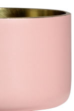 Small metal tealight holder - Dusky pink - Home All | H&M CN 2