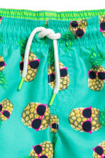 Swim shorts - Mint green/Pineapple  - Kids | H&M 2