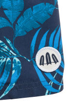 Swim shorts - Dark blue/Leaf - Kids | H&M 2