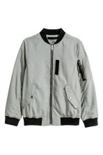 Bomber jacket - Grey -  | H&M 2