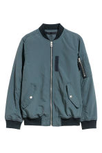 Bomber jacket - Dark blue-green - Kids | H&M CN 2
