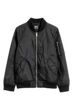 Bomber jacket - Black -  | H&M CN 2