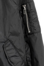 Bomber jacket - Black -  | H&M CN 3