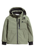 Softshell jacket - Khaki green - Kids | H&M CN 2