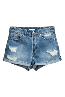 Kurze High Waist Shorts