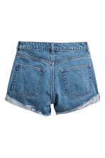 Short High Waist Shorts - Denimblå - DAM | H&M FI 3