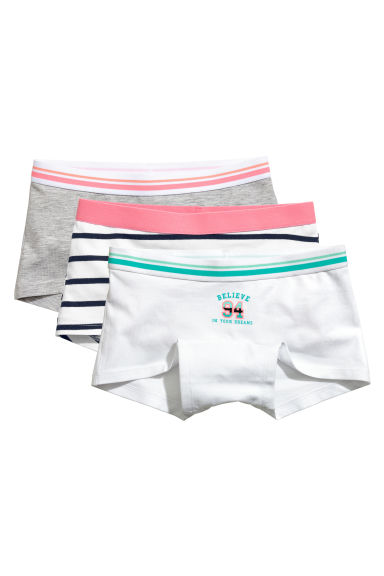Lot de 3 boxers - Gris chiné - ENFANT | H&M FR 1